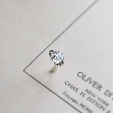 Herkimer Diamond  Pierced -8-