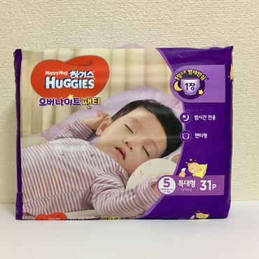 HUGGIES NightPants 31枚入り