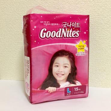 リニューアル後!Goodnites Lサイズ
