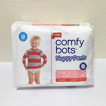 comfy bots Nappy Pants 21枚入り