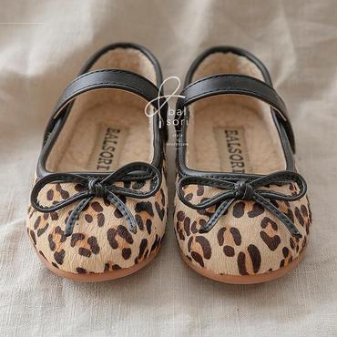 leopard boa  shoes