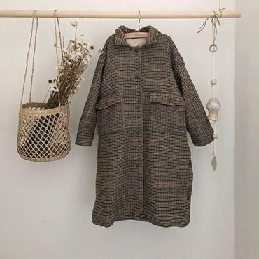 【ご予約】BN  check  hoodie  coat