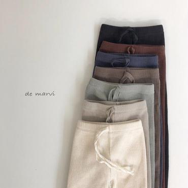 19SS marvi  rib  leggings(kids)