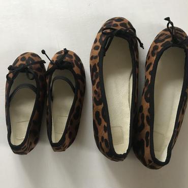 leopard ballet shoes(kids)