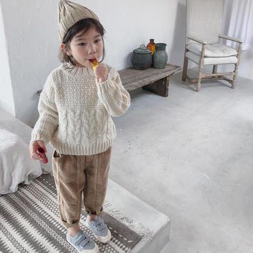 cable  petit  knit