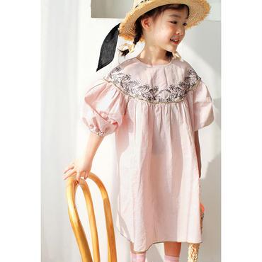 ご予約  embroidery  dress
