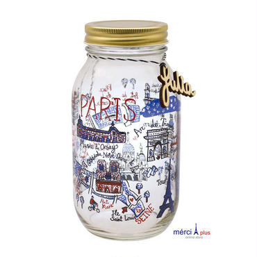 GLASS  JAR (L)