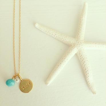K14GFsea necklace...❤︎