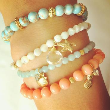 K14GF mermaid bracelets..❤︎