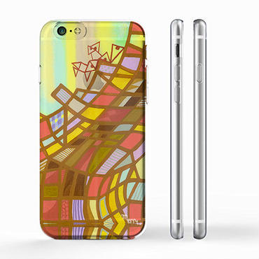 """Amber Homes #1""  iPhone 6/6s/5/5s/6plus/6s plus Cover [ soft / hard ]"