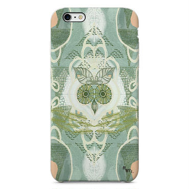 """Forest Owl"" green フクロウ iPhone 6/6s/5/5s/6plus/6s plus Cover [ soft / hard ]"