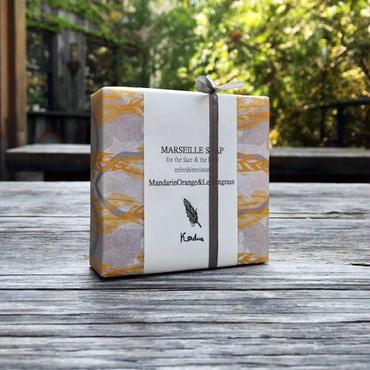 【MERRYデザインパッケージ】MARSEILLE SOAP [マルセイユ石鹸/有香シリーズ]