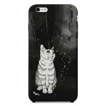 """Cat"" ネコ -black- iPhone 6/6s/5/5s/6plus/6s plus Cover [ soft / hard ]"