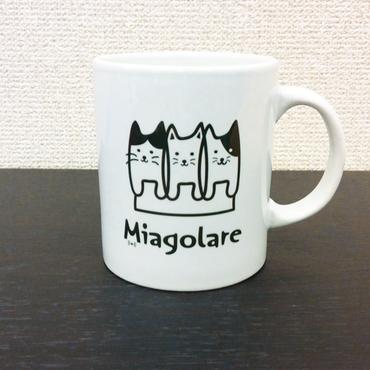 Miagolare ロゴ オリジナルマグ