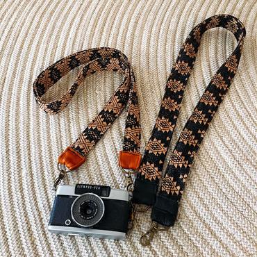 カメラストラップハンドメイド