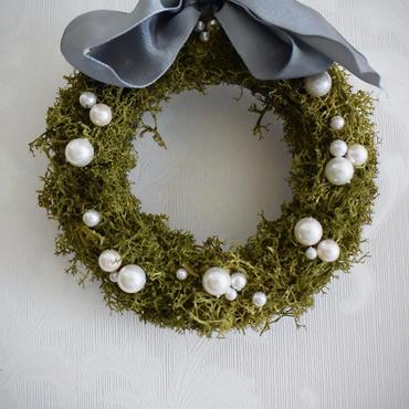 "mossWreath ""Baby Bubbles"""