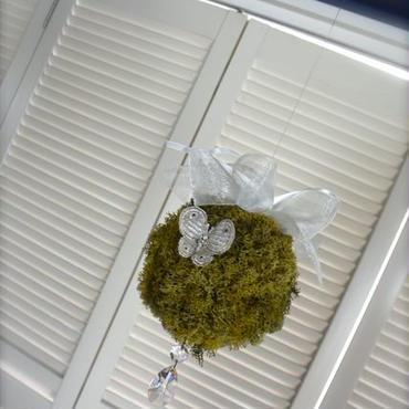 【1点もの、送料込】moss ball ~for wedding