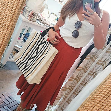 ginger and sprout(ジンジャーアンドスプラウト)/ SOLID FLARE MAXI