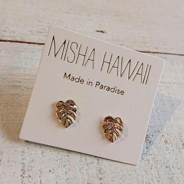 MISHA HAWAII/MONSTERA STUDピアス