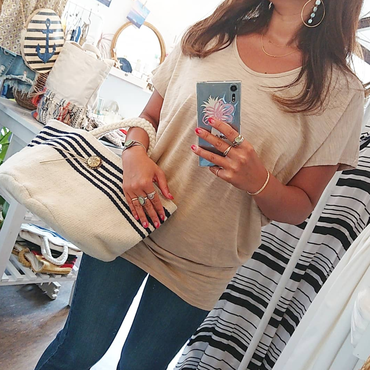 ginger and sprout(ジンジャーアンドスプラウト)/ DOLMAN TOP Ⅱ