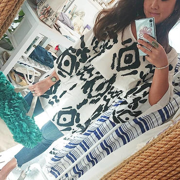 tiare hawaii(ティアレハワイ) / WAVE MINI DRESS