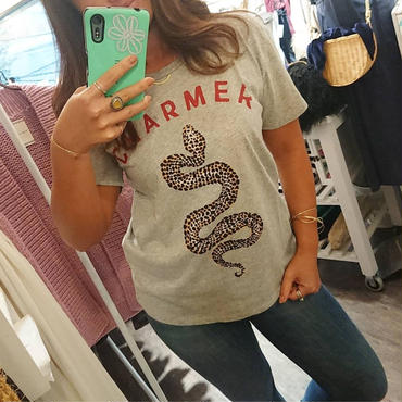 AMUSE SOCIETY/CHARMER Tシャツ