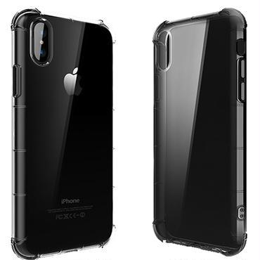 BtoB 送料無料10個 iPhone x ソフトTPUタフケース 米軍規格「MIL-STD 810G-516.7」テスト済