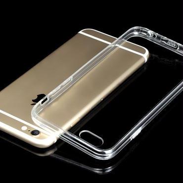★iPhone6/6s衝撃緩和バンパー超密度TPU超薄ソフトスーパーファインクリアケース