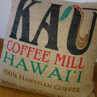 KAUコーヒー麻袋 クッションセット