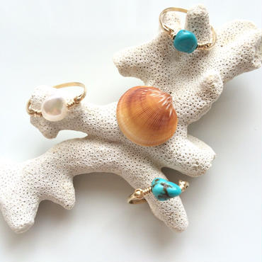 Moana Shell ring