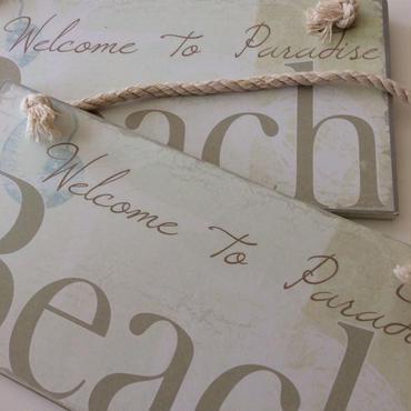 Beach サインボード