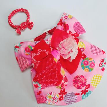 *きんぎょの浴衣*ピンク*Lサイズ