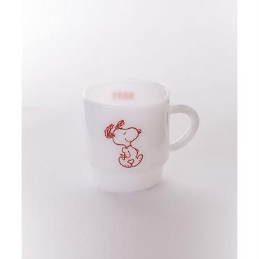 【MILKWARE】STACKING MUG SNOOPY 2