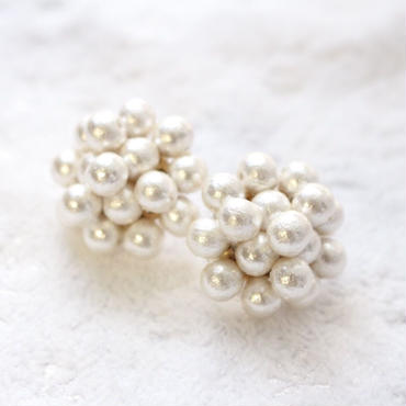 Dahlia cotton pearl pierce