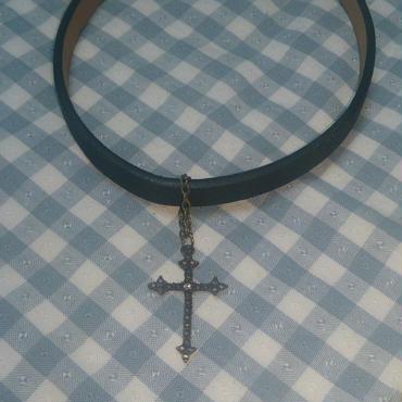 【送料無料】十字架のチョーカー