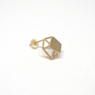 ice cube plate SS  ピアス