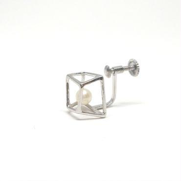 ice cube SSイヤリング シルバー