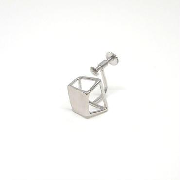 ice cube_plate SSイヤリングシルバー