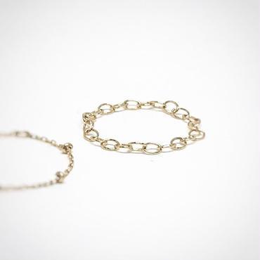 チェーンリングtiny necklace チェーン