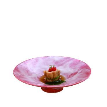 赤楽 平鉢 98-493-04