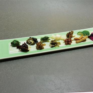 グリーン ライン長皿 98-494-05