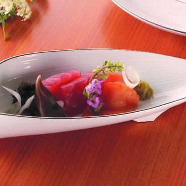リーフ型盛り皿 98-496-02