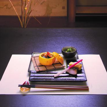 グリーンビードロ 角皿と豆皿セット 98-494-06と07