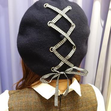 ストリングベレー帽