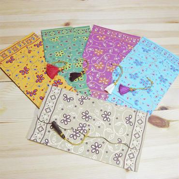 インド封筒・ご祝儀袋(5枚セット)-BINDU