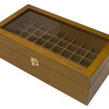 病院の薬を使わず植物の力を活用したい…!家に置いておく薬箱のように…☆私も日頃から愛用をしている「doTERRA(ドテラ)社」「木製精油収納BOX」(50本収納可能)