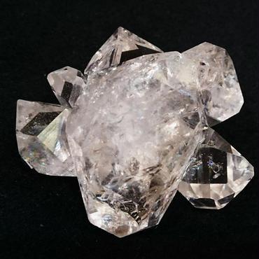 【一点モノ!】極上の輝きと透明感…!溜め息が出てしまう程…ごく稀に見る美しさ…!プレミア級のトップクオリティー「ハーキマーダイヤモンド」