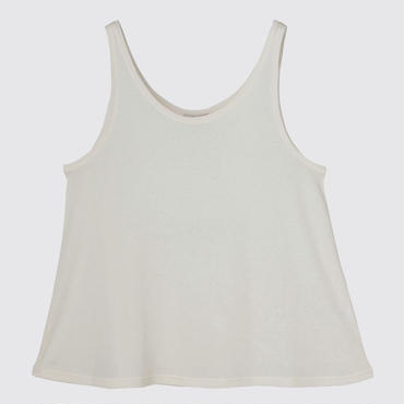 SPIMA COTTON TANK SHIRTS  (OFF WHITE)