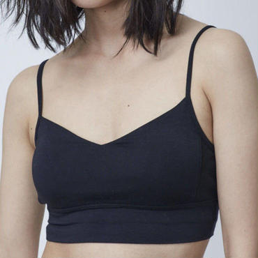 BARE YARN JERSEY STRETCH BRA
