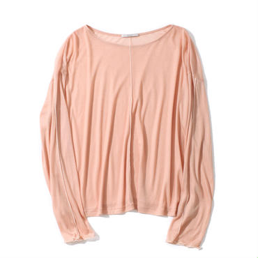 TENCEL CHIFFON PULL OVER(PINK)